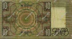 10 Gulden PAYS-BAS  1936 P.049 TTB