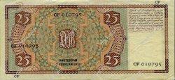 25 Gulden PAYS-BAS  1938 P.050 SUP