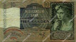 10 Gulden PAYS-BAS  1940 P.056a pr.TTB