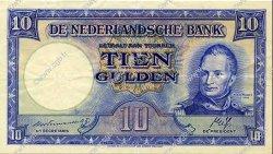 10 Gulden PAYS-BAS  1945 P.075b pr.SUP