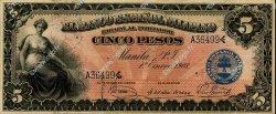 5 Pesos PHILIPPINES  1908 P.001 pr.NEUF