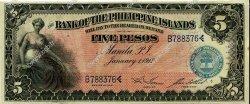 5 Pesos PHILIPPINES  1912 P.007a pr.NEUF