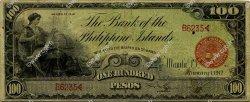 100 Pesos PHILIPPINES  1912 P.011b TB