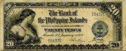 20 Pesos PHILIPPINES  1933 P.024 TB+