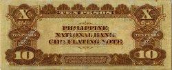 10 Pesos PHILIPPINES  1916 P.047b TTB