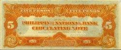 5 Pesos PHILIPPINES  1921 P.053 SUP+