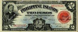 2 Pesos PHILIPPINES  1929 P.074b TTB