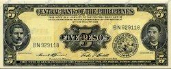 5 Pesos PHILIPPINES  1949 P.135d NEUF