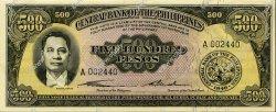 500 Pesos PHILIPPINES  1949 P.141a NEUF
