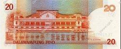 20 Pesos PHILIPPINES  1986 P.170c NEUF