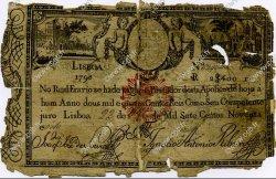 2400 Reis PORTUGAL  1828 P.034 AB