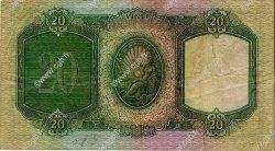 20 Escudos PORTUGAL  1944 P.153a TTB