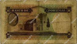 50 Escudos PORTUGAL  1947 P.154 B+