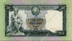 50 Escudos PORTUGAL  1960 P.164 SUP+