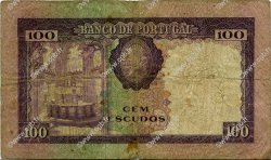 100 Escudos PORTUGAL  1961 P.165 B