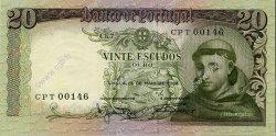 20 Escudos PORTUGAL  1964 P.167a pr.NEUF