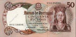 50 Escudos PORTUGAL  1964 P.168 SPL
