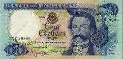100 Escudos PORTUGAL  1965 P.169a SPL+
