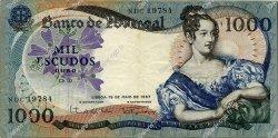 1000 Escudos PORTUGAL  1967 P.172a TTB