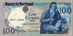 100 Escudos PORTUGAL  1981 P.178b pr.NEUF