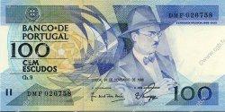 100 Escudos PORTUGAL  1988 P.179f NEUF