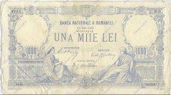 1000 Lei ROUMANIE  1912 P.023a TB+