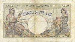500 Lei ROUMANIE  1924 P.028 TB+