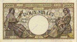 2000 Lei ROUMANIE  1943 P.054a