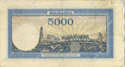 5000 Lei ROUMANIE  1944 P.056a TTB