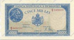 5000 Lei ROUMANIE  1945 P.056a SPL