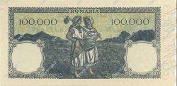 100000 Lei ROUMANIE  1946 P.058a pr.NEUF