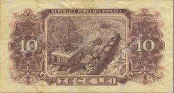10 Lei ROUMANIE  1952 P.088b TTB