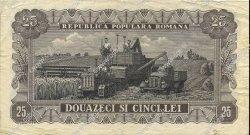 25 Lei ROUMANIE  1952 P.089b TB+