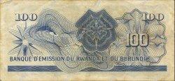100 Francs RWANDA  1962 P.03b TTB