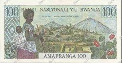 100 Francs RWANDA  1978 P.12 SPL