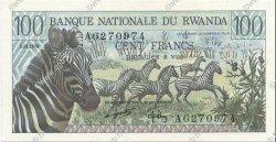 100 Francs RWANDA  1978 P.12 NEUF