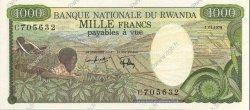 1000 Francs RWANDA  1978 P.14a pr.NEUF