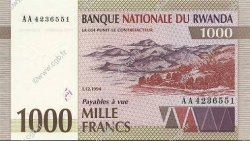 1000 Francs RWANDA  1994 P.24 NEUF