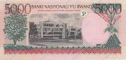 5000 Francs RWANDA  1998 P.28 NEUF