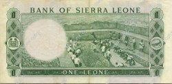 1 Leone SIERRA LEONE  1970 P.01c TTB+
