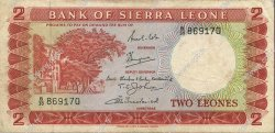 2 Leones SIERRA LEONE  1969 P.02c pr.TTB