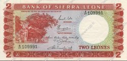 2 Leones SIERRA LEONE  1969 P.02c SUP+