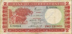 2 Leones SIERRA LEONE  1970 P.02d TB+