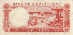 2 Leones SIERRA LEONE  1970 P.02d TTB