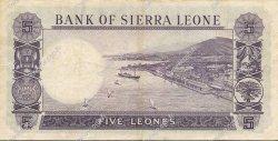 5 Leones SIERRA LEONE  1964 P.03a TTB
