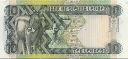 10 Leones SIERRA LEONE  1988 P.15 NEUF