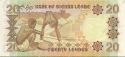 20 Leones SIERRA LEONE  1988 P.16 SUP
