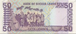 50 Leones SIERRA LEONE  1988 P.17a NEUF