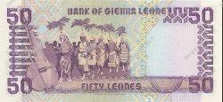 50 Leones SIERRA LEONE  1989 P.17b NEUF