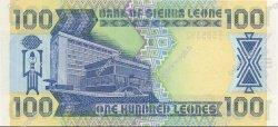 100 Leones SIERRA LEONE  1988 P.18a NEUF